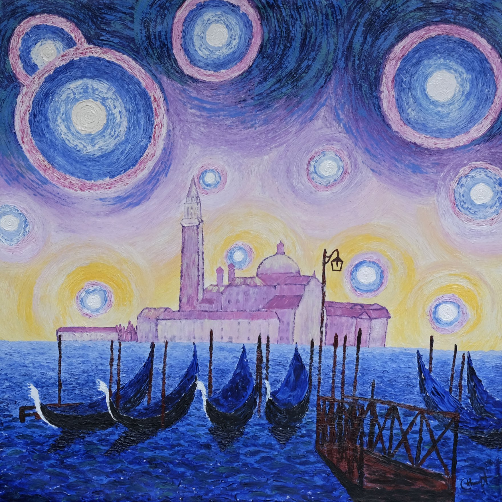 Starry night Venezia
